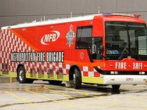 MFB firebrigade bus