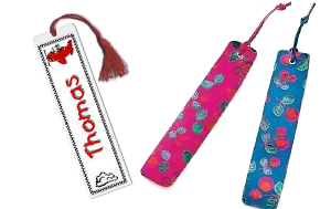 Create cool patterns on bookmarks for boys and girls