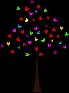 tree-of-multicoloured-heartshaped-leaves