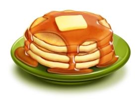 pancakesyrup